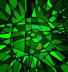 Green background variation vector