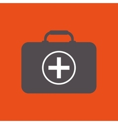 Medical kit icon design vector