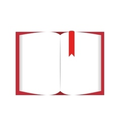 book page blank vector image