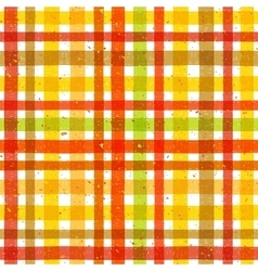 Hand drawn tartan colorful seamless pattern vector