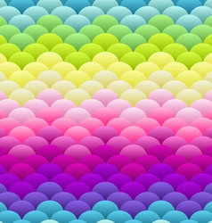 Neon rainbow light blobs seamless background vector image vector image