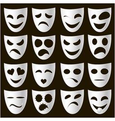 Theatre masks vector