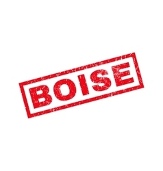 Boise rubber stamp vector