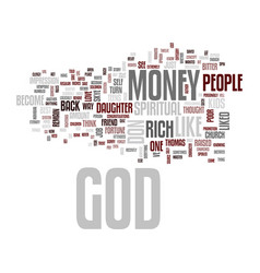 God don t like rich people text background word vector