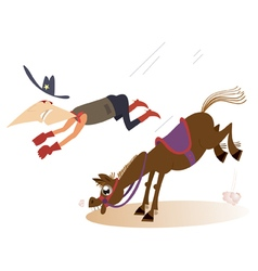 Rodeo vector image
