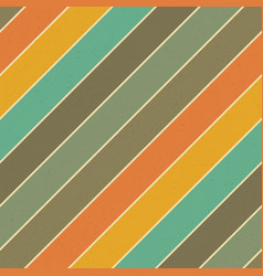 Retro colors diagonal lines background abstract vector