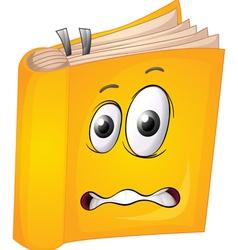 a book vector image vector image