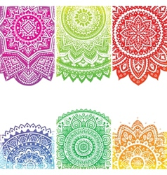 Beautiful indian ornament vector