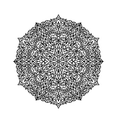 Ethnic mandala vector