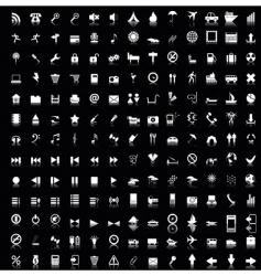 Web icons set vector