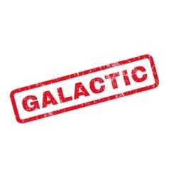 Galactic rubber stamp vector