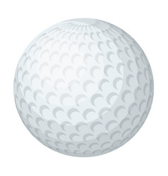 golf ballgolf club single icon in cartoon style vector image