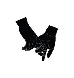 Hand signal vector