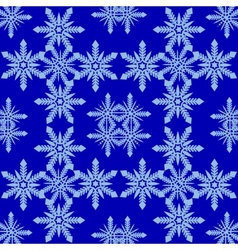 Pattern from snowflake vector