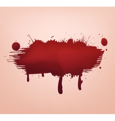Blood blot abstract vector