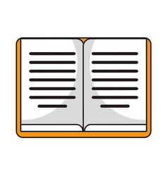 Book knowledge library study vector