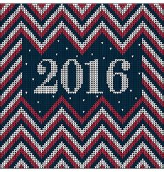 Knitting usa colors pattern sweater battlement21 vector