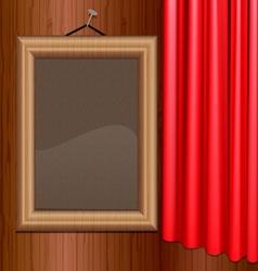 portrait frame vector image