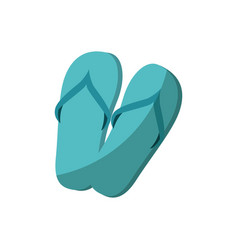 Sandals icon image vector