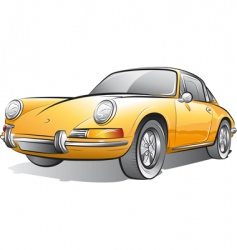 expensive car vector image