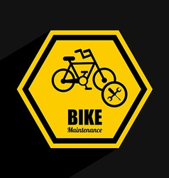 Bike maintenance vector