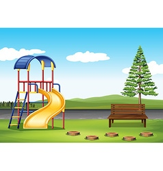Playground ing the park vector