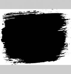 Grunge paint block vector
