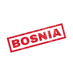 Bosnia rubber stamp vector