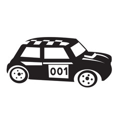 Isolated car toy vector