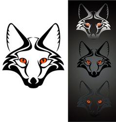 Logo fox 1 vector