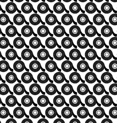 Seamless background of electrical tape vector image vector image