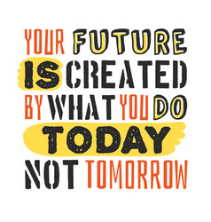 Text template for design your future is created by vector