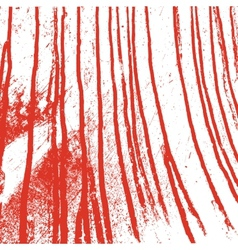 Texture white wall with bloody red stains vector image