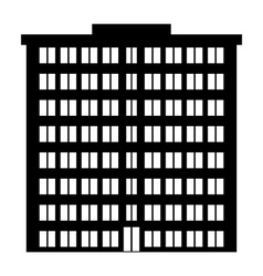 Condominium icon vector