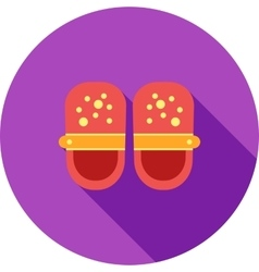 Baby shoes vector