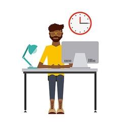People working design vector