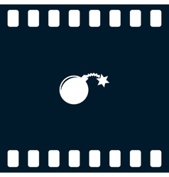 TNT bomb icon vector image