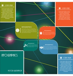 Modern design layout for business vector
