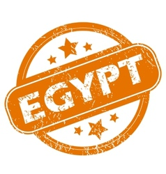 Egypt grunge icon vector