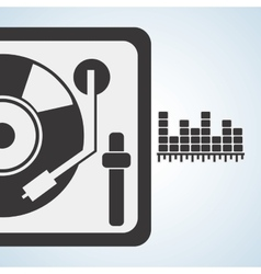 Music design isolated entertainment vector
