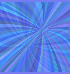 abstract curved ray burst background vector image vector image