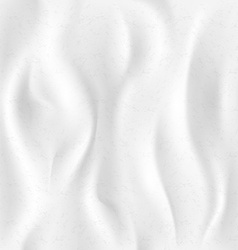 background of white cloth vector image