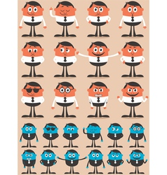 Character emotions vector