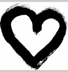 heart vector image