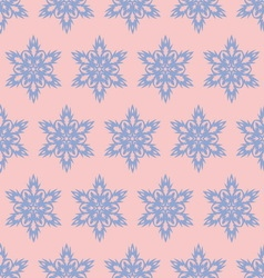Snowflake seamlesspattern christmas background vector