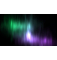 Aurora borealis northern lights vector