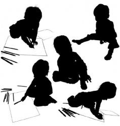 children's vector image vector image