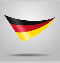 german flag background vector image vector image