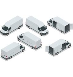 Truck for transportation cargo van for the vector