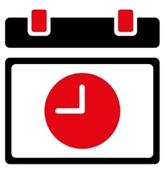 Time schedule icon vector